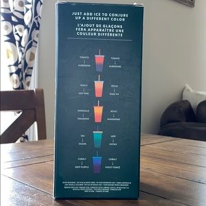 Starbucks Other - Starbucks color changing reusable cold cups!